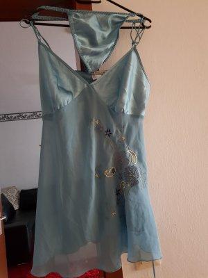 Conjunto de lencería azul pálido-azul claro