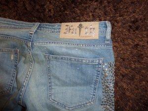 Destroy Jeans mit Nieten von Faith gr. 28