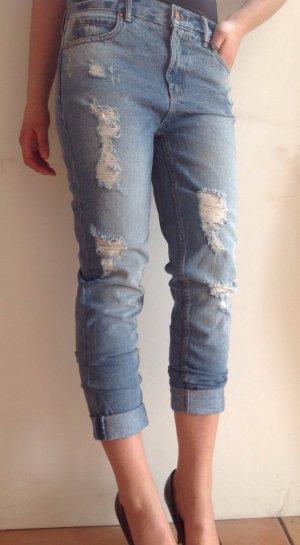 Destroyed Boyfriend-Jeans Gr. S der dänischen Trendmarke ENVII
