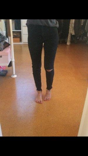 Destroyed highwaist Jeans
