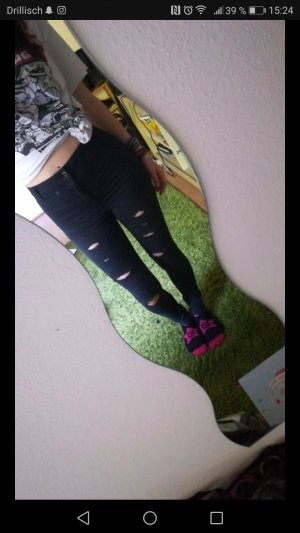 Destroyed Highwaist Skinny Jeans