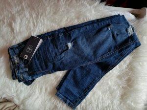 Bershka Skinny jeans blauw
