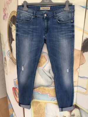 Destroyed Jeans, hellblau, coole Waschung