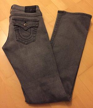Destroyed Jeans ripped Style mit Glitzerknöpfen von TRUE RELIGION *neuwertig*