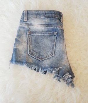 Destroyed Jeans Shorts Zara Trend Blogger Musthave