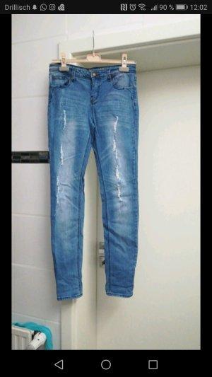 Destroyed Jeans Skinny