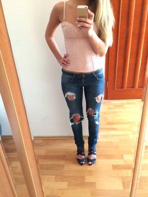 Destroyed Jeans Zara Slim
