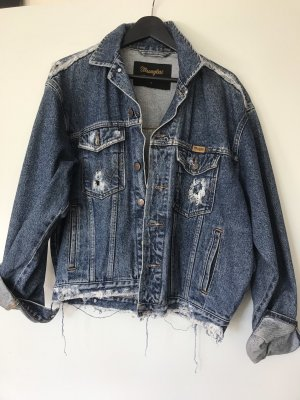 Destroyed jeansjacke Wrangler
