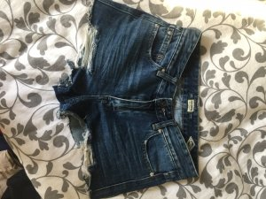 Destroyed Jeansshorts