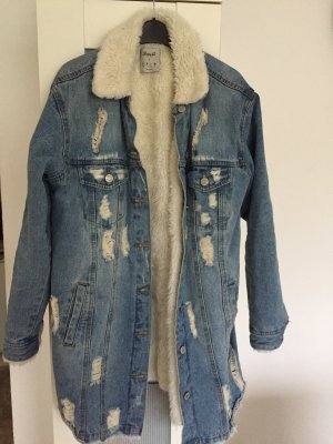 Destroyed look Jeans jacke