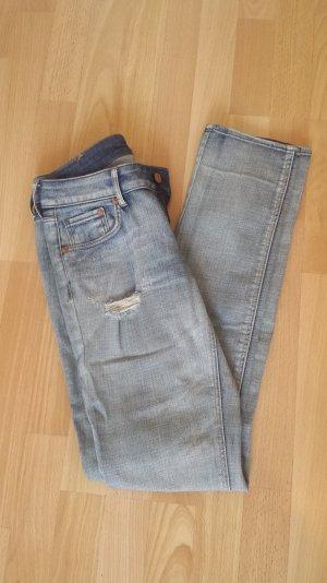 Destroyed Röhren Jeans Gr.27