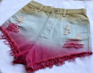 Destroyed Shorts in toller Sommerfarbe - NEU