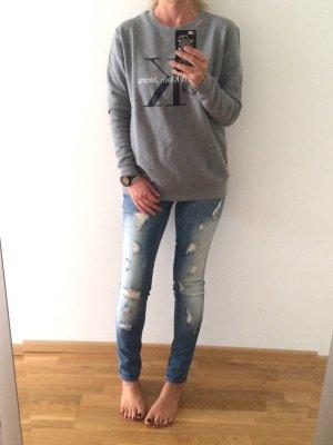 Destroyed-Skinny Jeans von Only