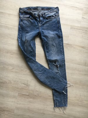 Destroyed Skinny- Jeans W27