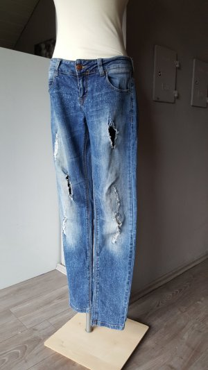 Destroyed Zara Jeans - Gr 38 - Premium - sexy Destroyedjeans bluejeans ripped jeans