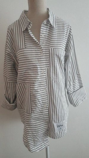 Shirt Blouse white-black