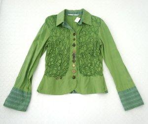 detailverliebte Bluse Bottega Gr. 36