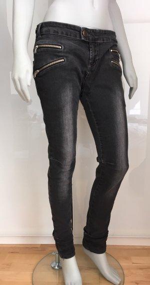 DETROIT 37 Jeans Röhrenjeans anthrazit 40 oder 42