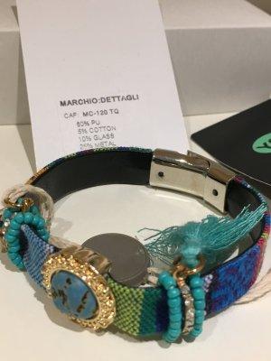 DETTAGLI Armband, Boho, Indian Style, NEU mit Etikett, Magnetschließe