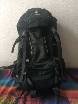 Deuter Trekking Backpack black-grey