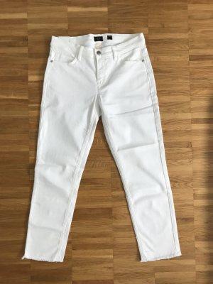 Deyk 7/8-jeans wit