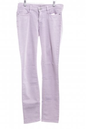Deyk Skinny Jeans blasslila Casual-Look