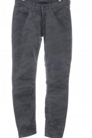Deyk Slim Jeans grey-dark grey camouflage pattern casual look
