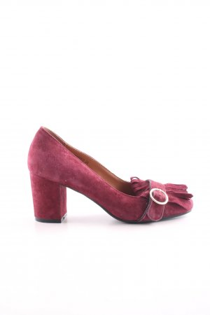 di Lauro Loafer rosa look vintage