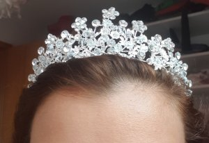Jumex Headdress silver-colored