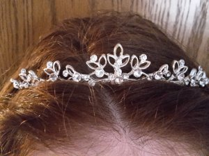 Emmerling Headdress white-silver-colored