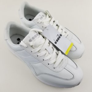 Diadora Damen Sneaker Speed weiss clean Leder NEU mit Karton 37 37,5 38 zara