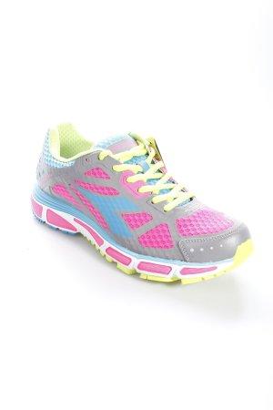 Diadora Sneaker stringata multicolore stile atletico