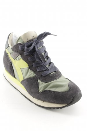 Diadora Lace-Up Sneaker multicolored athletic style