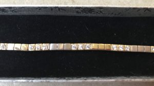 Diamant Armband Echtes Gold 585