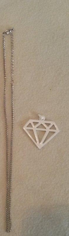 Diamant Kette Geometrisch