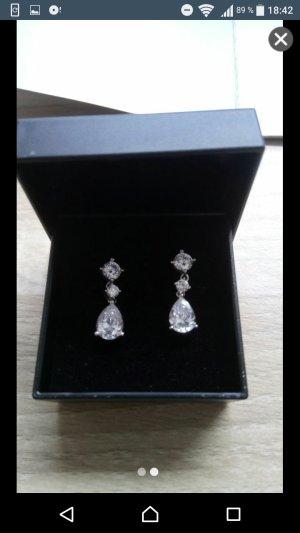 Diamant Ohrringe Neu