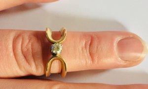 Diamant Ring 585 Gelbgold 14 Karat