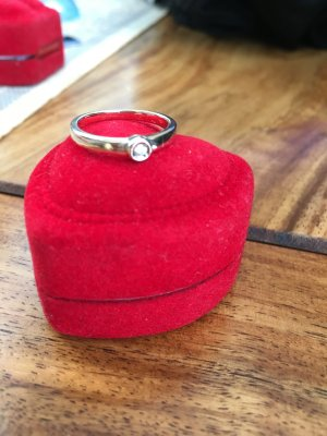 Diamant Ring Gelbgold 585