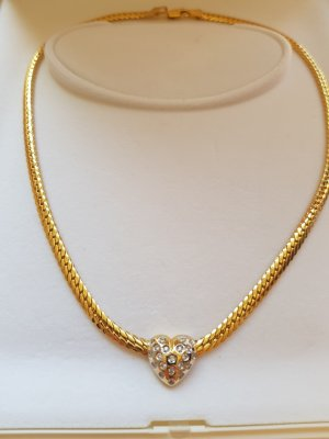 Diamanten Collier Herz Echt 585 Gold 14 Karat