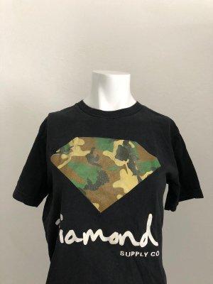 Diamant Print Shirt black
