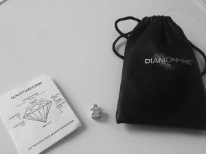 Diamonfire - Anhänger Kette - Zirkonia Brilliantschliff