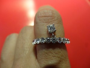 Diamonfire Zirkonia Eternities Linie Gr. 57 (18.1)