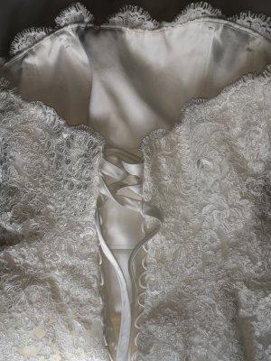 Diane Legrad Traum Brautkleid in Ivory in Größe 42