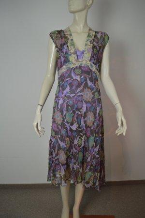 Diane von Fürstenberg 100% Seiden Kleid Gr. 10 (36-38)