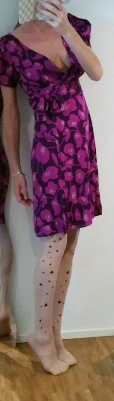 Diane von Fürstenberg 'Artie' Wickelkleid wrapdress Seide boho
