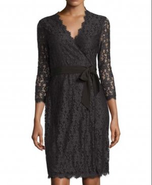 Diane Von Fürstenberg Black Little Dress Uvp: 600€ As seen in Brigitte Jones