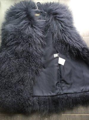 Diane von Furstenberg Veste en fourrure gris violet pelage