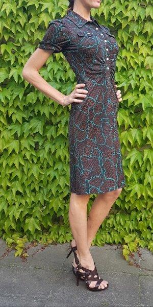 Diane von Fürstenberg Furstenberg Kleid Polly Anna polo shirtdress sommer safari