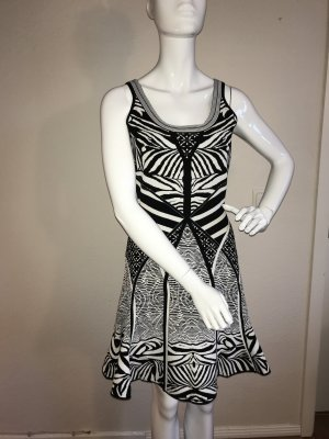 Diane von Fürstenberg Kleid FANNY M 38 stretch dress Zebra Tatoo