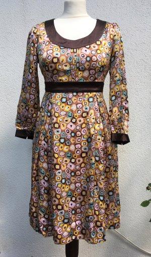 Diane von Furstenberg Babydoll-jurk veelkleurig Zijde